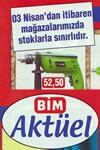 Bim 3 Nisan 2015 Aktüel Ürünler Katalogu
