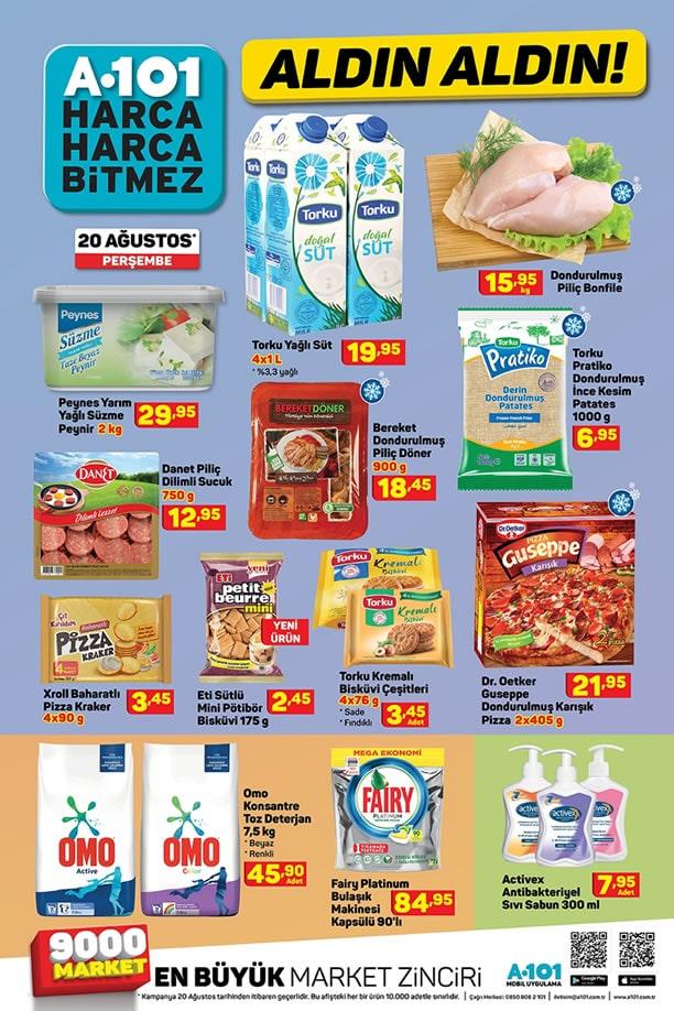 20 Ağustos A101 Aktüel Ürün İndirimleri Kataloğu