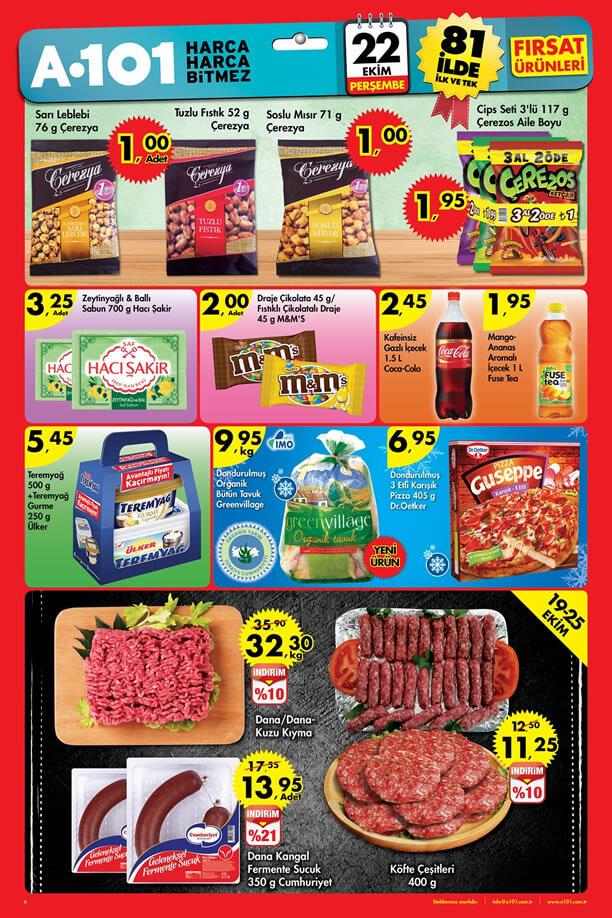 22 Ekim A101 Aktüel Ürünler - 2015 Katalogu