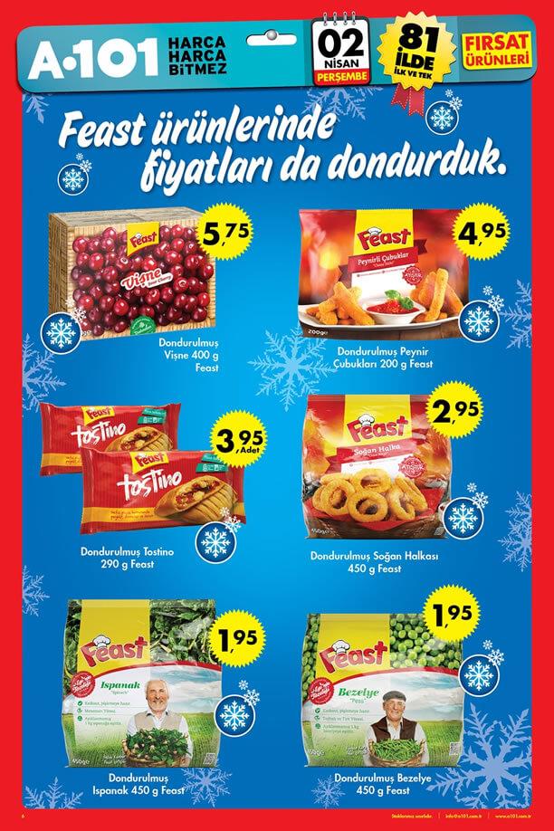 A101 02 Nisan 2015 Aktüel Ürünler Broşürü - Feast