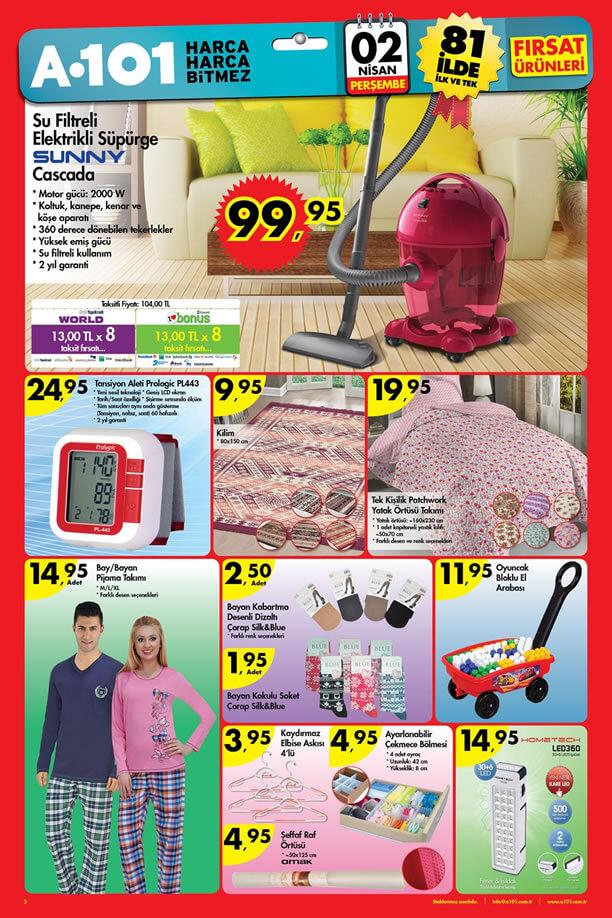A101 02 Nisan 2015 Aktüel Ürünler Broşürü