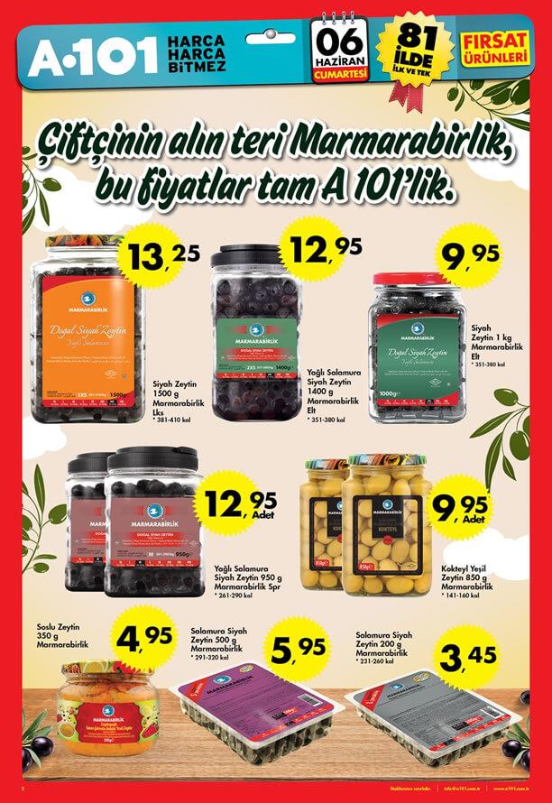 A101 06.06.2015 Fırsat Ürünleri Kataloğu - Marmarabirlik