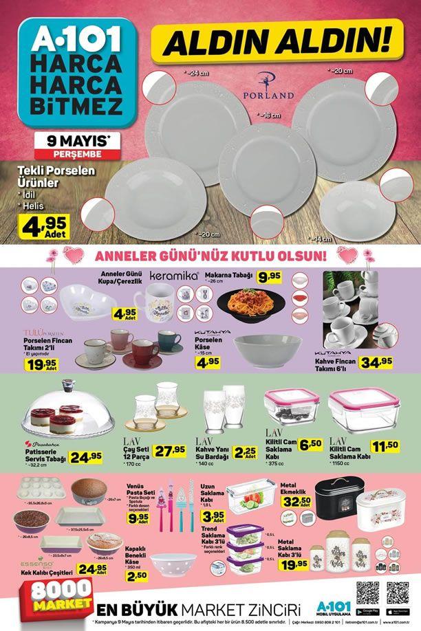 A101 09.05.2019 Aktüel Kataloğu - Mutfak Ürünleri