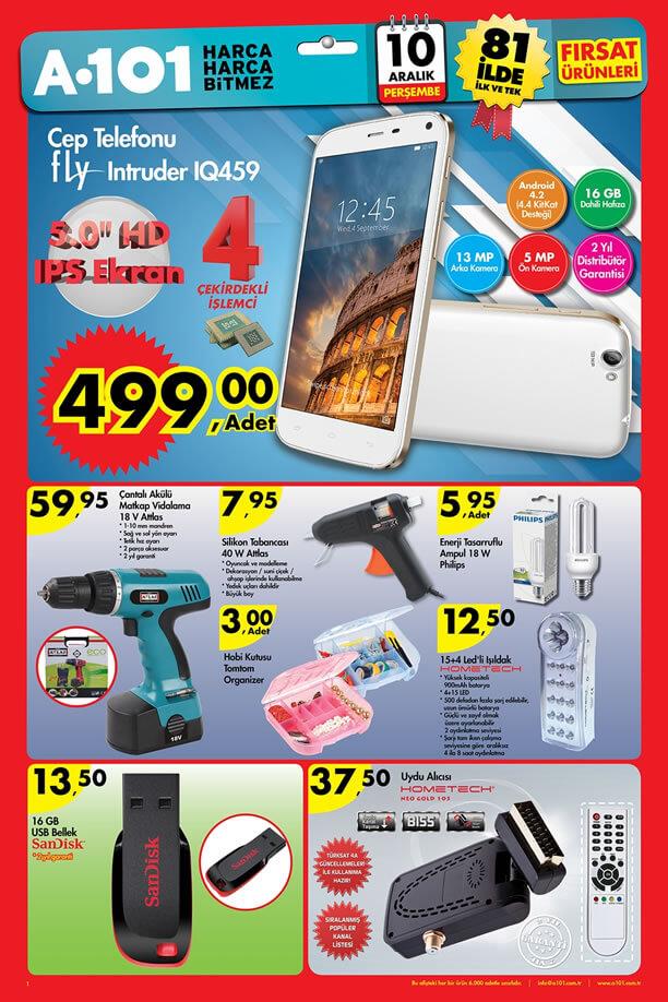A101 10 Aralık 2015 Aktüel Ürünler Broşürü - Fly Intruder IQ459