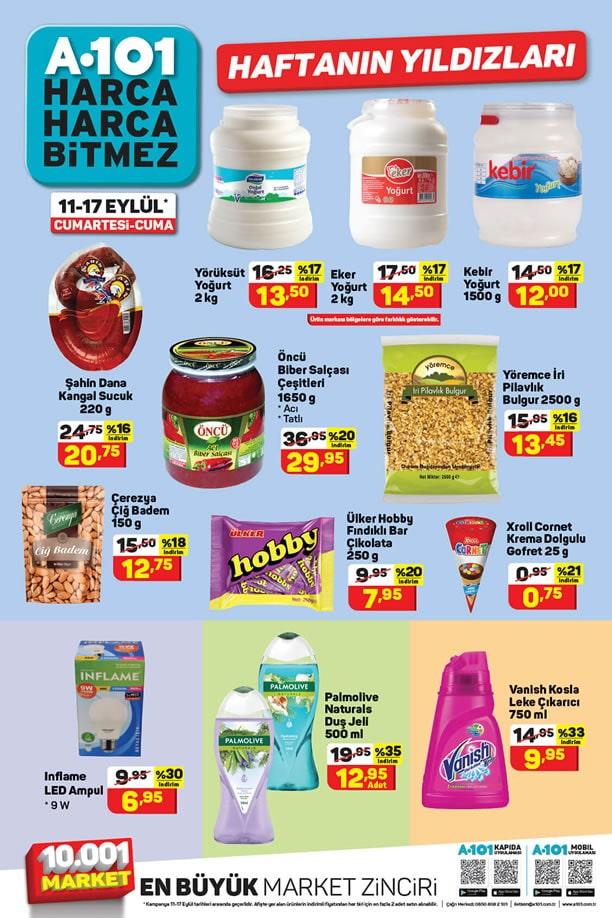 A101 11 Eylül 2021 Aktüel Ürünler Kataloğu