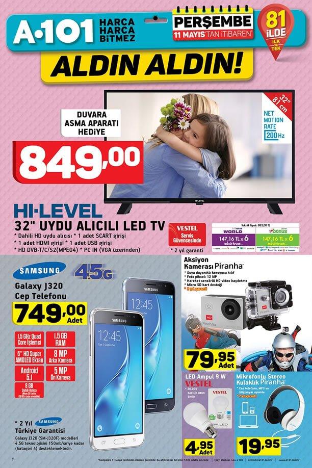 A101 11 Mayıs 2017 Katalogu - Teknoloji Ürünleri