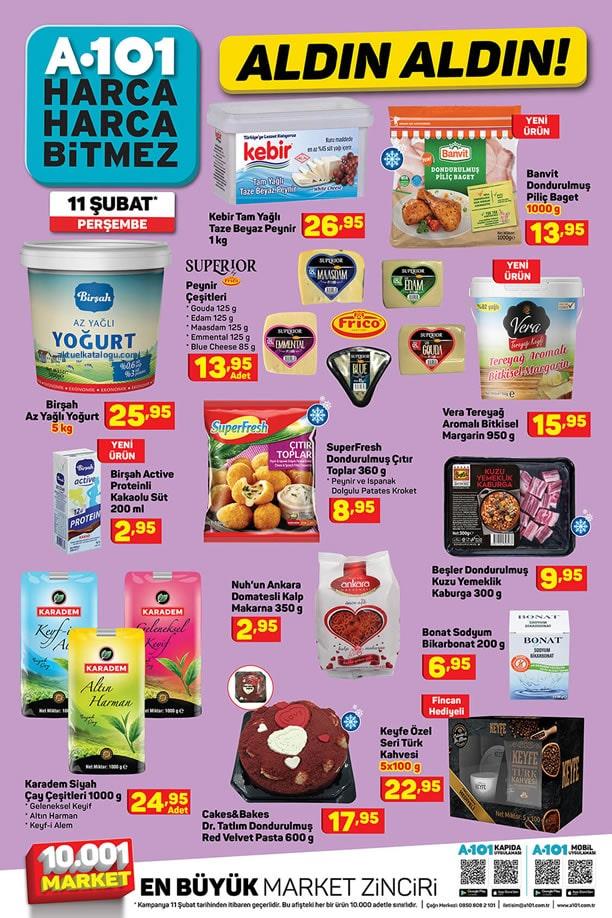 A101 11 Şubat - 17 Şubat 2021 İndirimli Ürünler Broşürü
