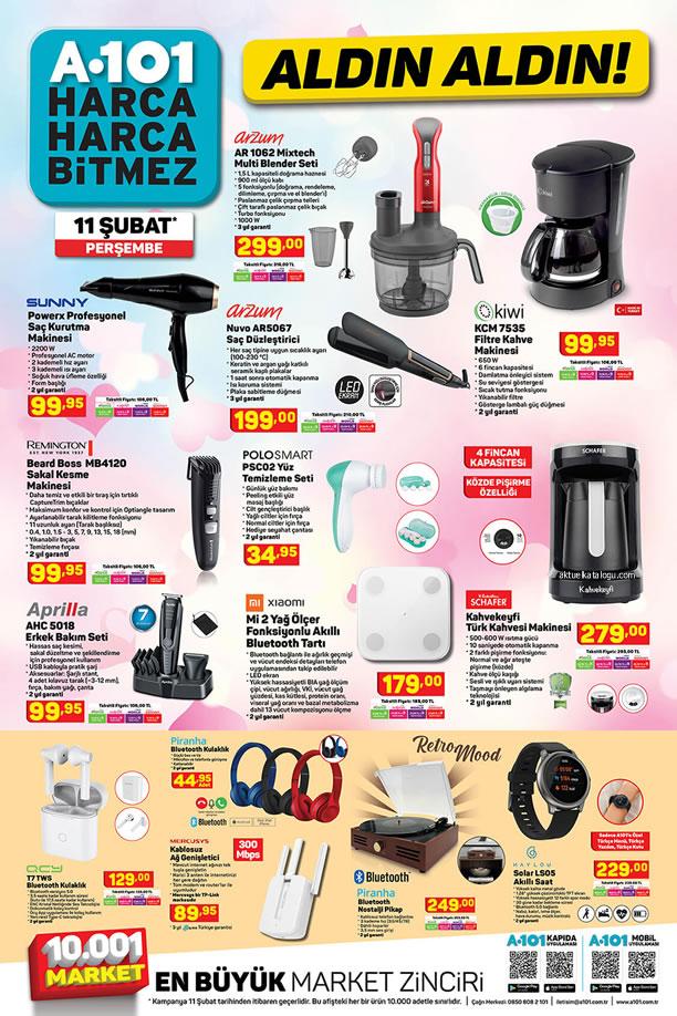 A101 11 Şubat 2021 Aldın Aldın - Kiwi Filtre Kahve Makinesi