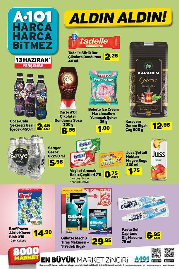 A101 13 - 19 Haziran 2019 İndirimli Ürünler Kataloğu