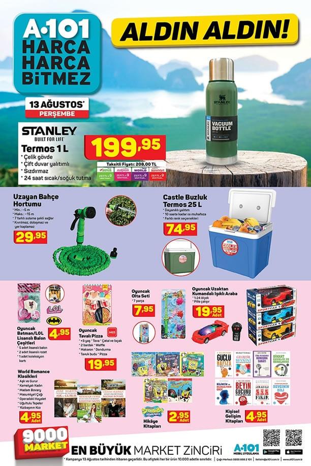 A101 13 Ağustos 2020 Fırsatları - Stanley Termos