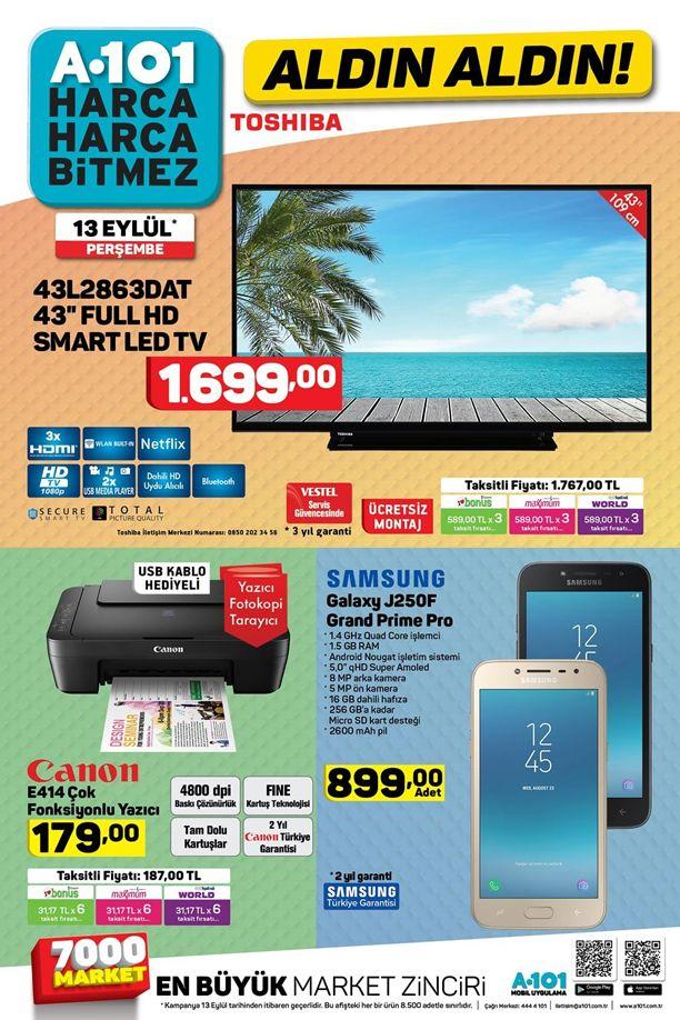 A101 13 Eylül 2018 Kataloğu - Samsung Galaxy J250F Grand Prime Pro