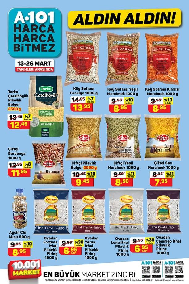 A101 13 Mart 2021 Aktüel ürünler Kataloğu