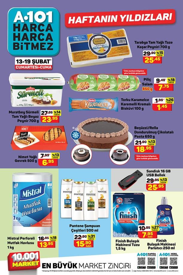 A101 13 Şubat 2021 Aktüel Ürünler Kataloğu