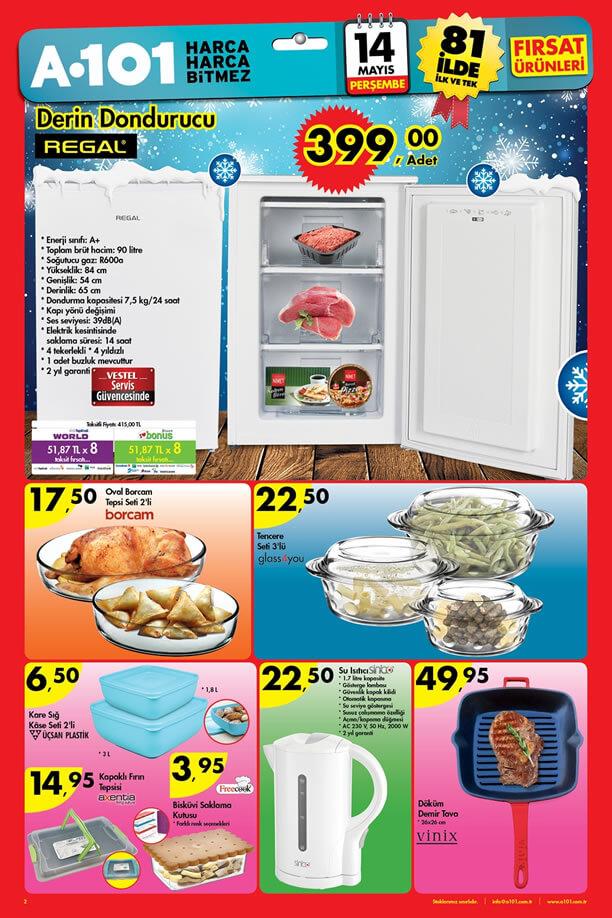 A101 14 Mayıs 2015 Perşembe Aktüel Ürünler Katalogu
