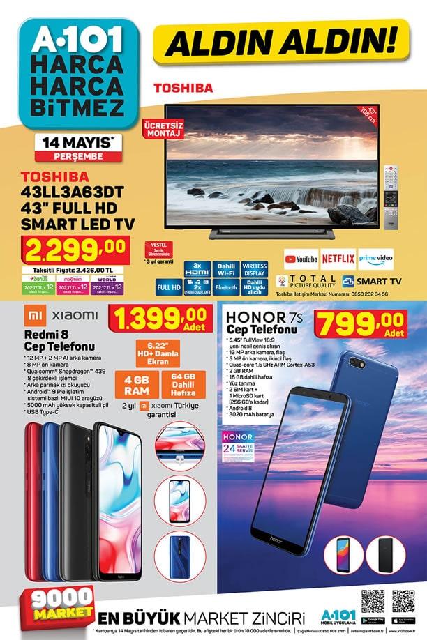 A101 14 Mayıs 2020 Kataloğu - Xiaomi Redmi 8 Cep Telefonu