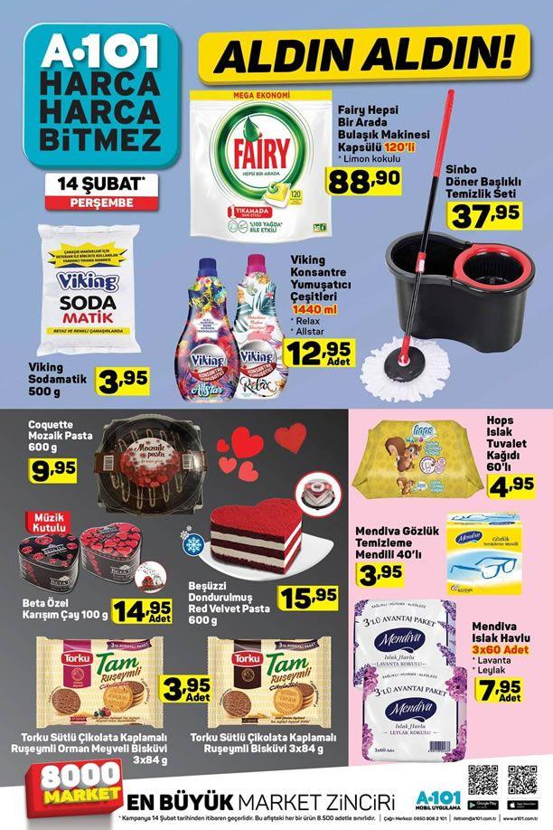 A101 14 Şubat 2019 Fırsat Ürünleri Kataloğu