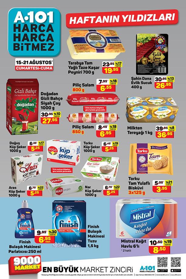 A101 15 Ağustos 2020 Aktüel Ürünler Kataloğu