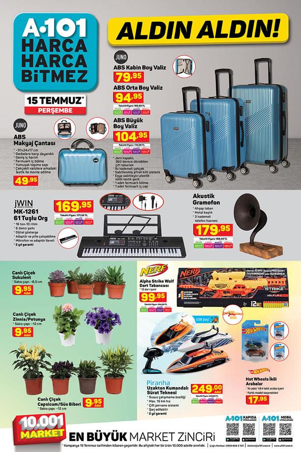 A101 15 Temmuz 2021 Perşembe - ABS Valiz Çeşitleri