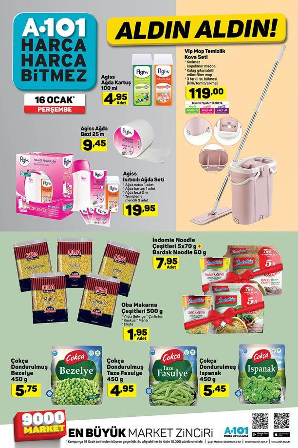 A101 16 Ocak 2020 Fırsat Ürünleri Kataloğu