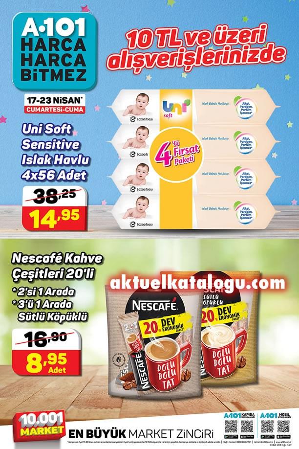 A101 17 - 23 Nisan 2021 İndirimli Ürünler Broşürü