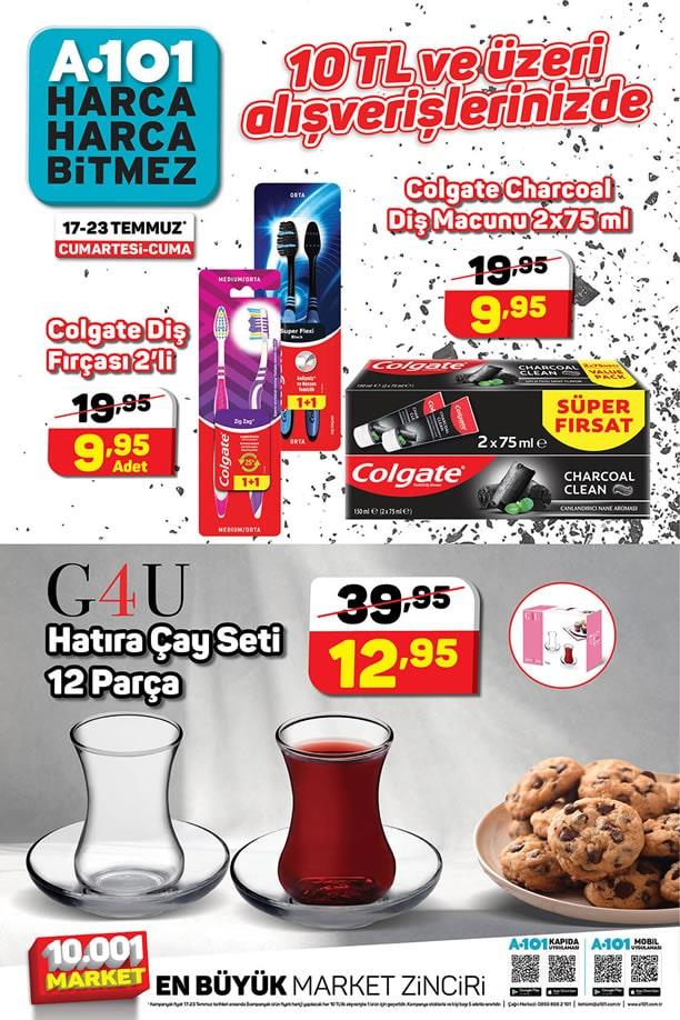 A101 17 - 23 Temmuz 2021 İndirimli Ürünler Broşürü
