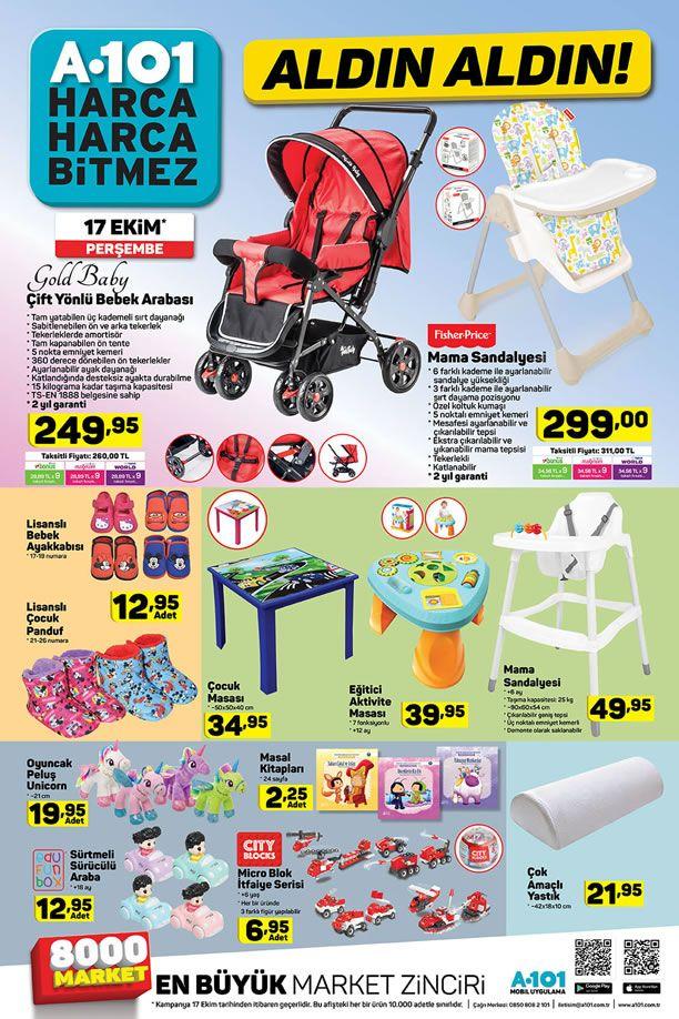 A101 17 Ekim 2019 Aldın Aldın Fırsatları - Bebek Arabası