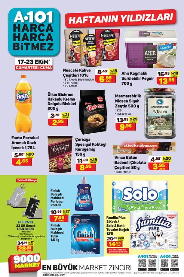 A101 17 Ekim 2020 Aktüel Ürünler Kataloğu