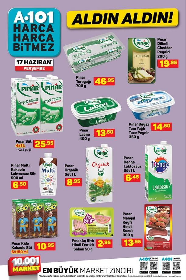A101 17 Haziran - 23 Haziran 2021 İndirimli Ürünler Kataloğu