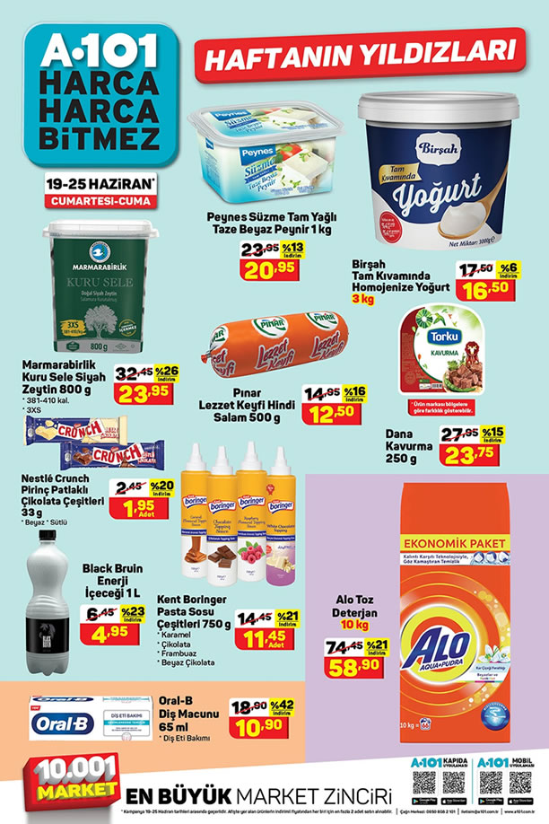 A101 19 Haziran 2021 Aktüel Ürünler Kataloğu