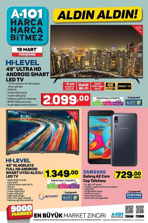 A101 19 Mart 2020 Kataloğu - Samsung Galaxy A2 Core Cep Telefonu