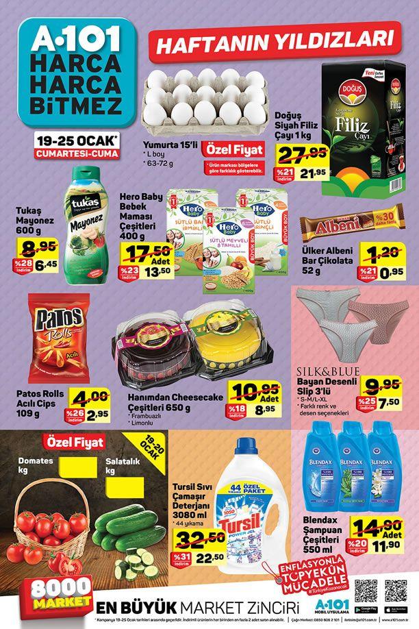 A101 19 Ocak 2019 Aktüel Ürünler Kataloğu
