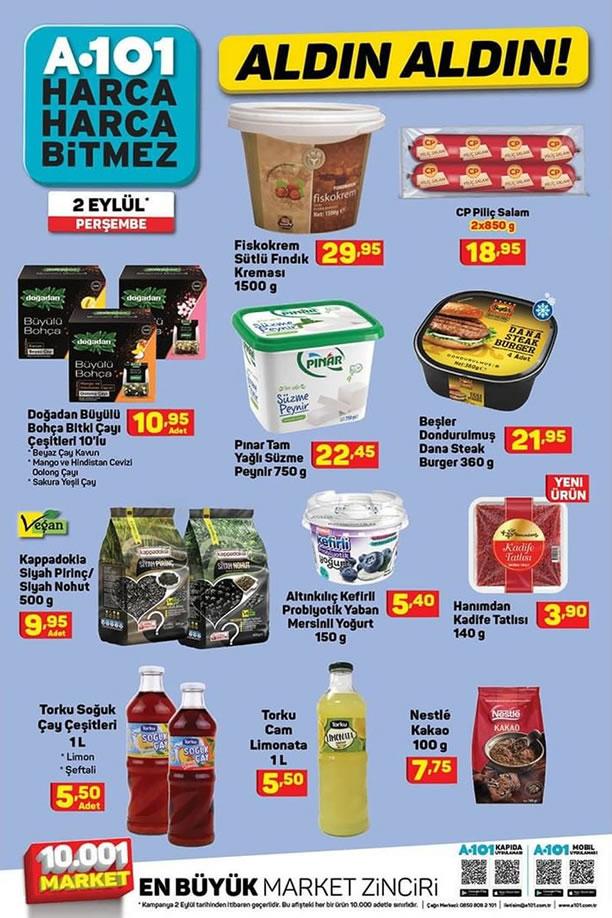 A101 2 Eylül 2021 İndirimli Ürünler Kataloğu