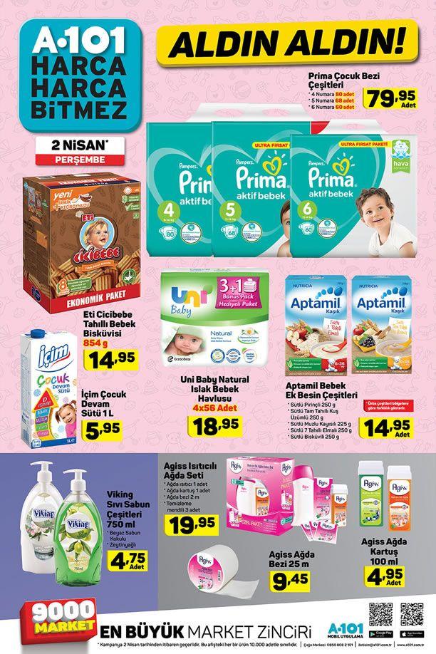A101 2 Nisan 2020 İndirimli Ürünler Kataloğu