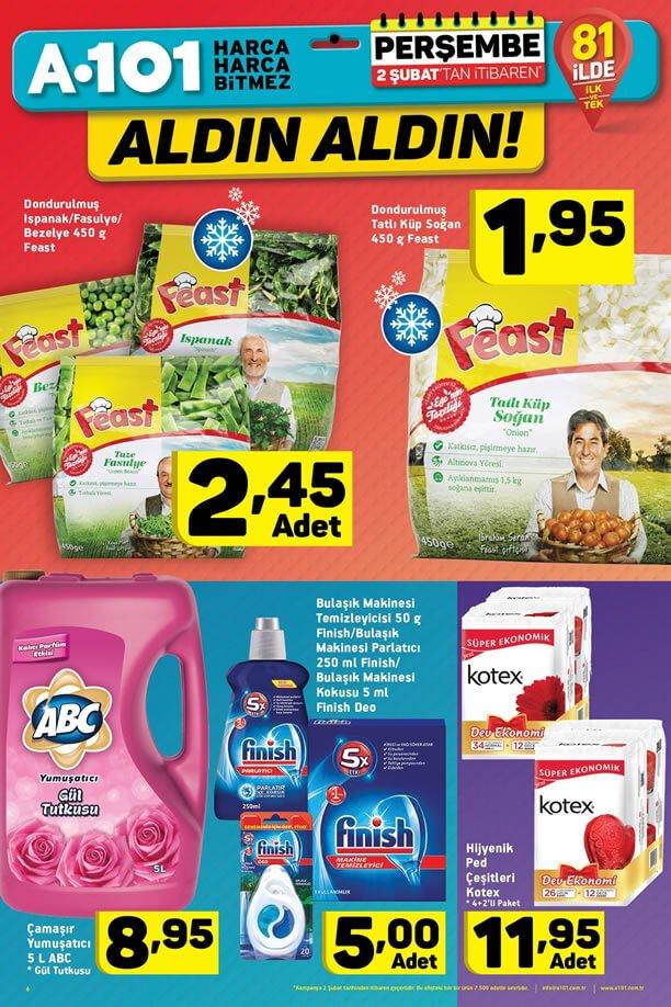 A101 2 Şubat 2017 Fırsat Ürünleri Katalogu - ABC Çamaşır Yumuşatıcı