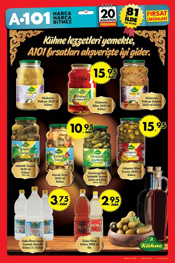A101 20 Ağustos 2015 Aktüel Ürünler Katalogu - Kühne