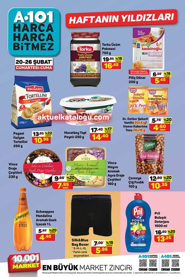 A101 20 Şubat 2021 Aktüel Ürünler Kataloğu