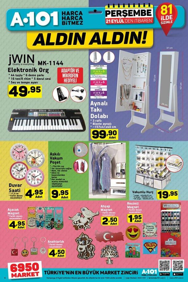 A101 21 Eylül 2017 - JWIN Elektronik Org