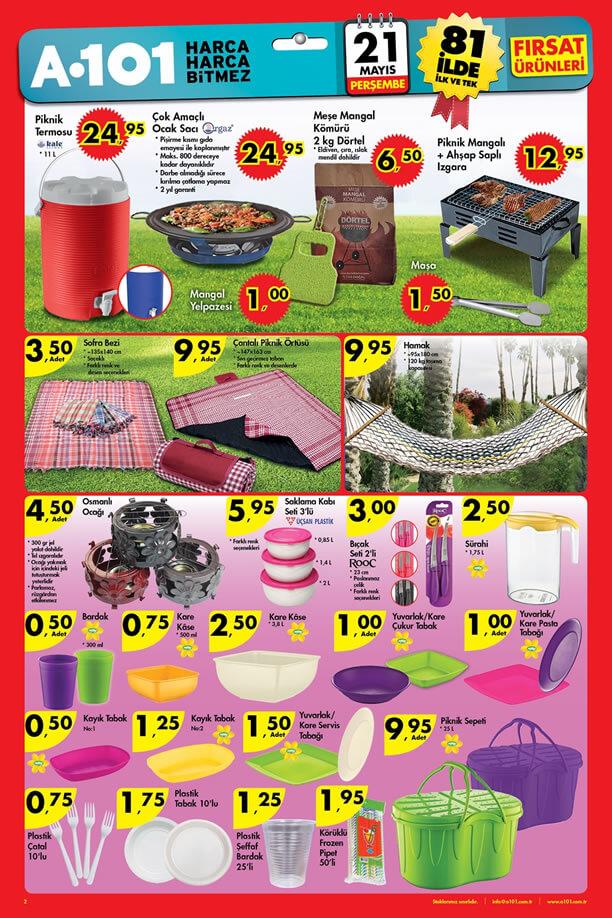 A101 21 Mayıs 2015 Aktüel Ürünler Katalogu - Orgaz Ocak Sacı