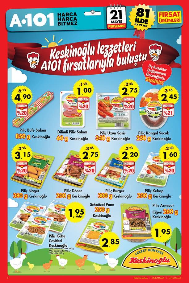 A101 21 Mayıs 2015 Fırsat Ürünleri Katalogu - Keskinoğlu
