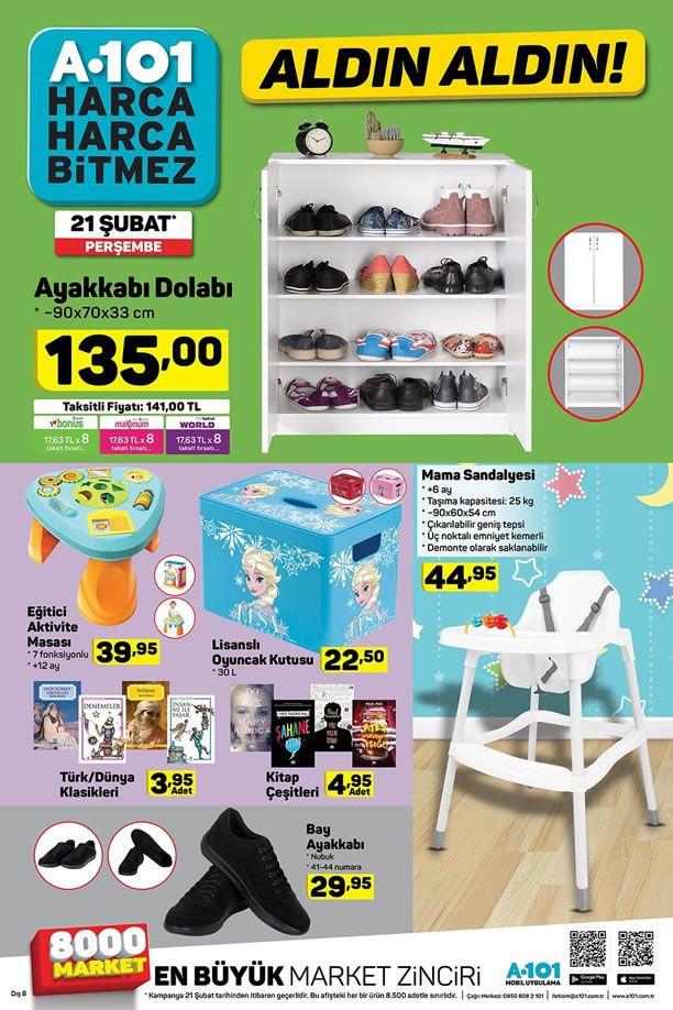 A101 21 Şubat - 26 Şubat 2019 Kataloğu - Mama Sandalyesi