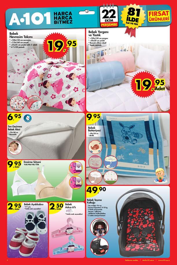A101 22.10.2015 Aktüel Ürünler Katalogu - Bebek Taşıma Koltuğu