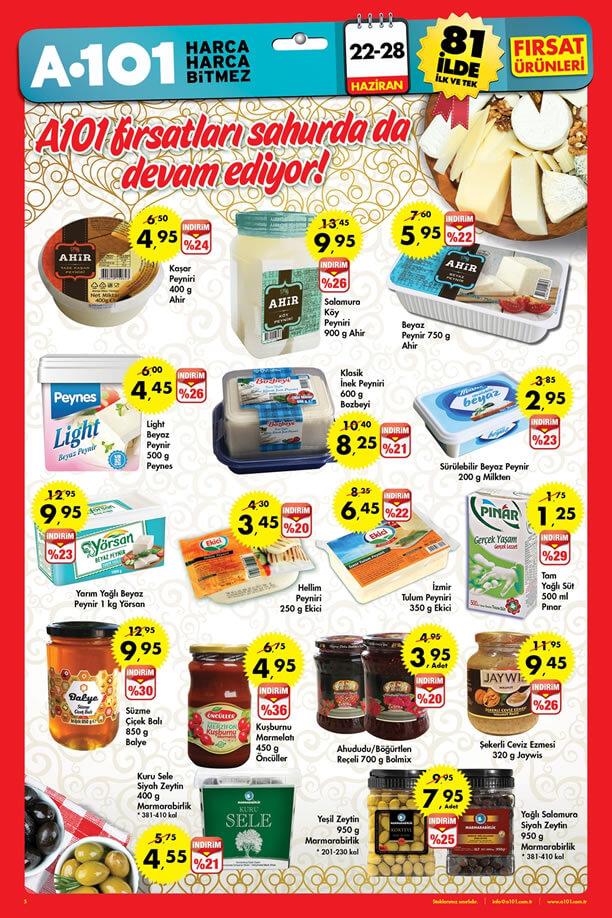 A101 22-28 Haziran 2015 Aktüel Ürünler Katalogu - Ramazan