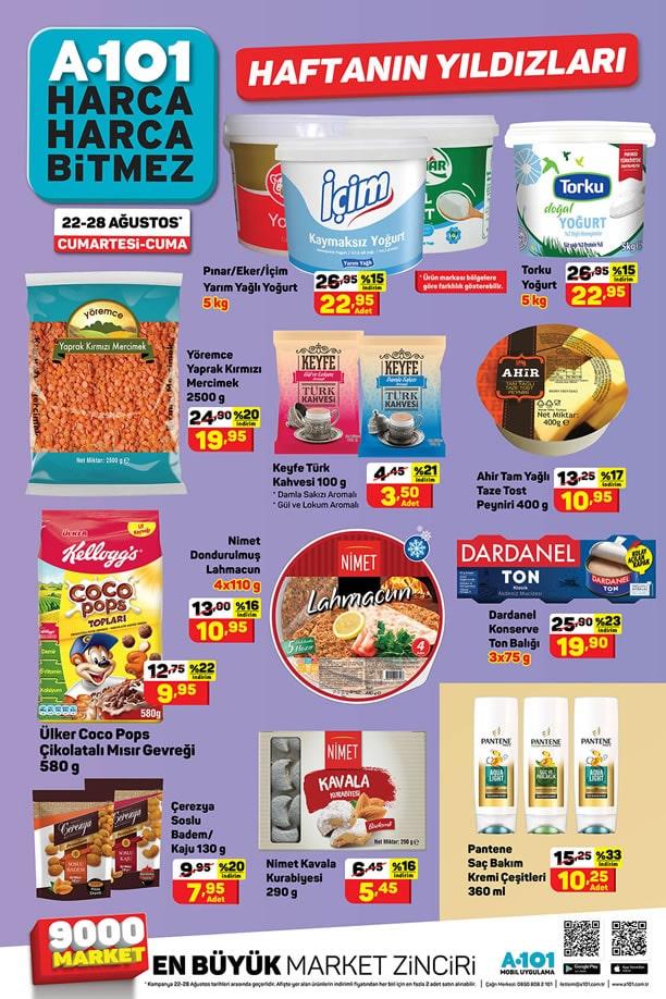 A101 22 Ağustos 2020 Aktüel Ürünler Kataloğu