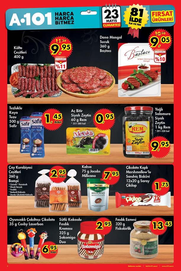 A101 23 Mayıs 2015 Cumartesi Aktüel Ürünler Katalogu