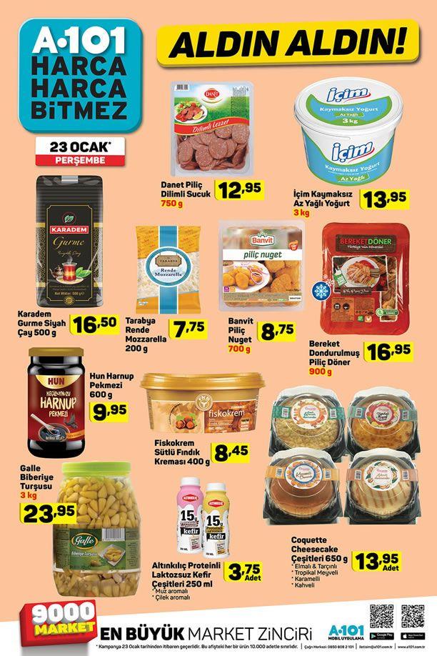 A101 23 Ocak 2020 Fırsat Ürünleri Kataloğu