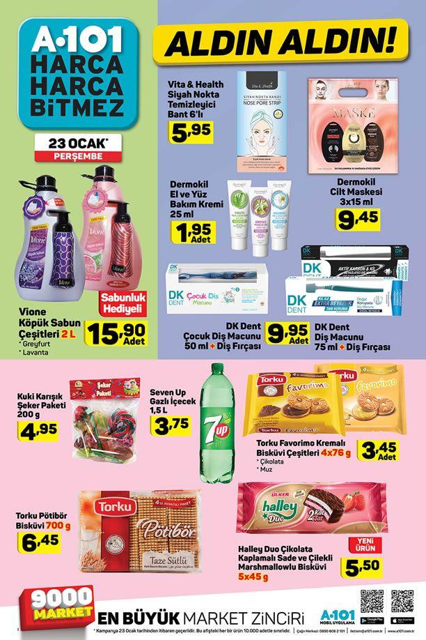 A101 23 Ocak - 29 Ocak 2020 İndirimli Ürünler Kataloğu