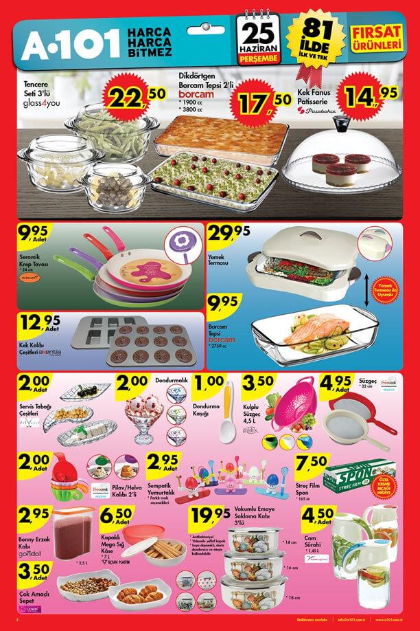 A101 25 Haziran - 2 Temmuz 2015 Aktüel Ürünler Katalogu