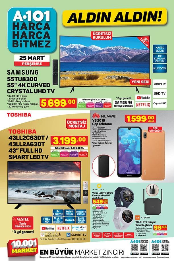 A101 25 Mart 2021 Aktüel Kataloğu - Huawei Y5 201 Cep Telefonu