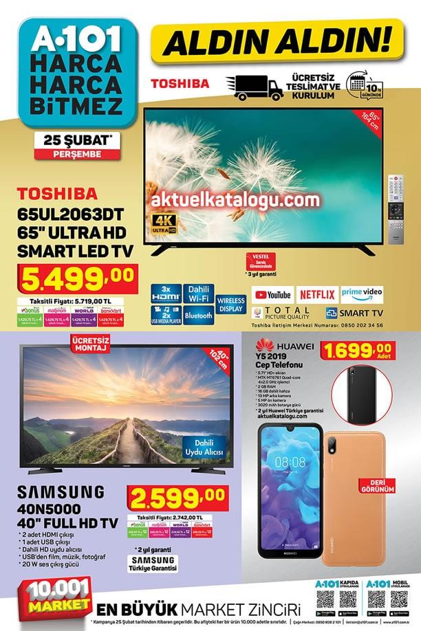 A101 25 Şubat 2021 Kataloğu - Huawei Y5 2019 Cep Telefonu