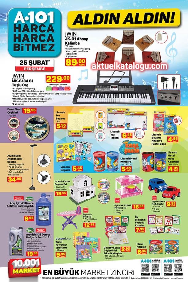 A101 25 Şubat - 3 Mart 2021 Aktüel Ürünler Kataloğu